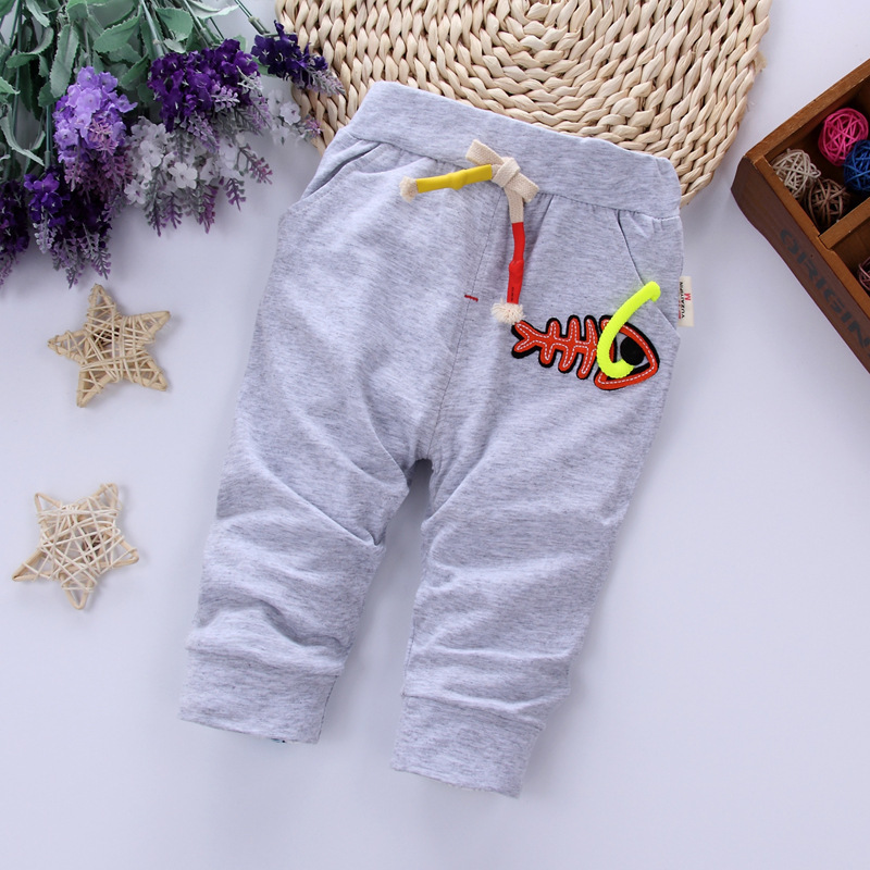 Baby Todder Boy Casual Shorts Infant Boys Cotton Calf-Length Pants Summer Kids Children  ...
