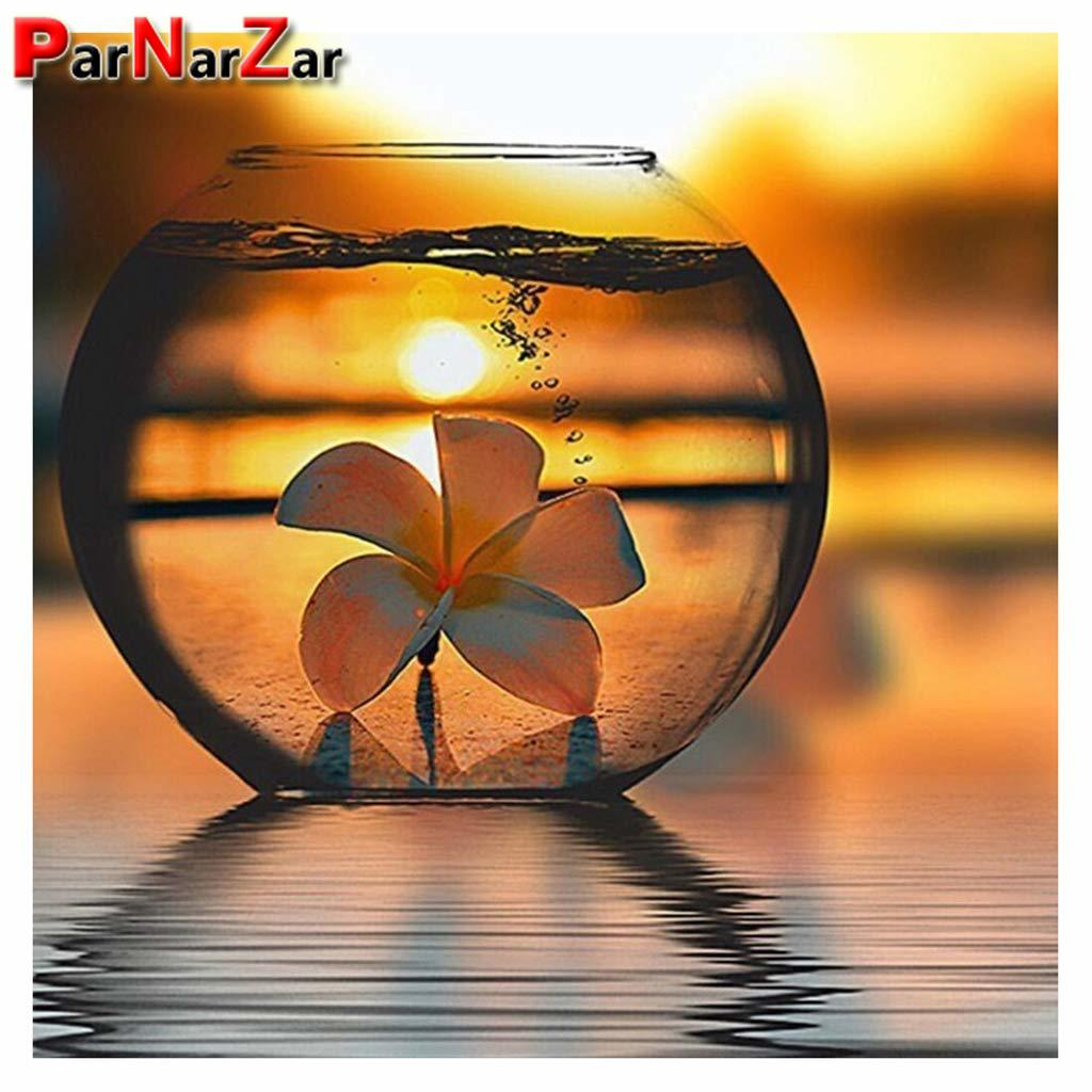 ParNarZar чашка DIY 5D алмазная картина полный набор сверл, хрустальные стразы картина, алмазная вышивка украшение для дома Декор стены