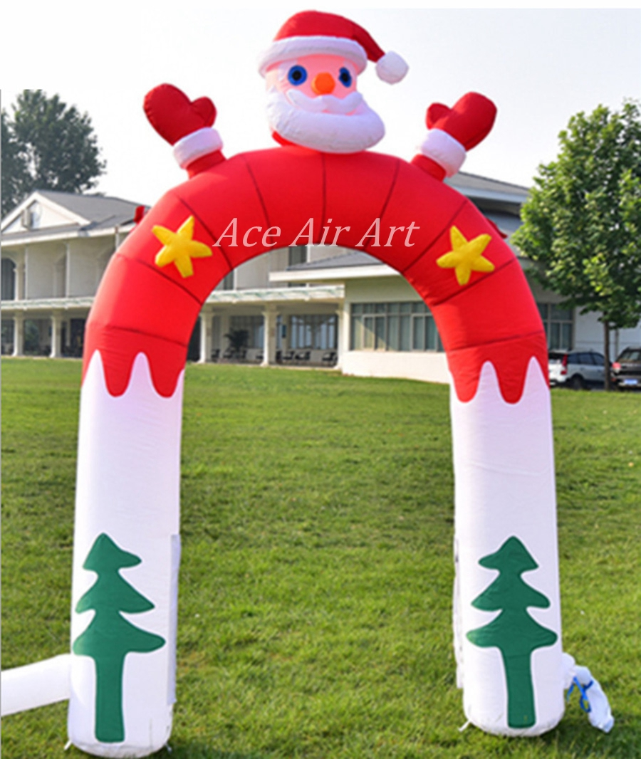 free fans Christmas archway gate door arch for decoration ...
