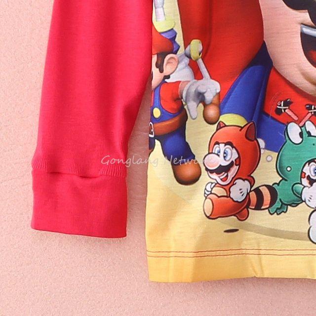 Cartoon Kids Nightwear Pajamas  4