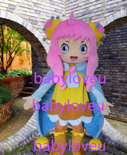 New girl fursuit mascot costume halloween costumes party costume dinosaurs fancy dress christmas gift