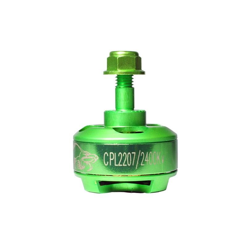 Green 2750KV/2600KV/2400KV/2200KV/1500KV Brushless Motor For Cobra CPL2207 For 220 280 RC Multicopter Frame Kit Accessories