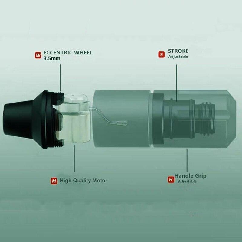 바늘 카트리지 공급을위한 소형 잡종 귀영 나팔 펜 기계 총 스위스 모터-에서타투 기계부터 미용 & 건강 의  그룹 3