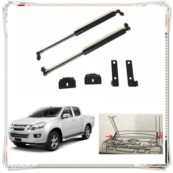 QDAEROHIVE car hood reuses the gas spring support rod Slow Down Shock Gas Strut for ISUZU D-max 2012-2014