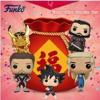 Original FUNKO POP Great Value Surprise Box Disney Marvel Avengers DC Justice League Action Figure Model Toys Random Delivery