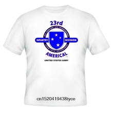 f48743da0d Men t shirt 23RD AMERICAL DIVISION & VIETNAM VETERAN ARMY UNIT &OPERATION  2-SIDED SHIRT