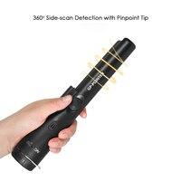 KKmoon Pinpointer Metal Detector Portable Pin Pointer Treasure Hunting Pinpointing Tool Waterproof Hand Held with Bracelet