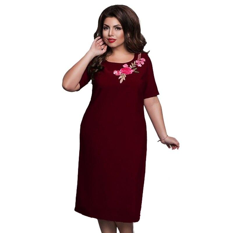 WEIXINBUY 2018 Femme Elegante Büro Abend Party Big Large Size - Damenbekleidung - Foto 2