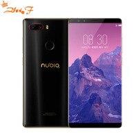Нубия Z17S Z17 S Octa Core сотовый телефон 5,73 ''полный Экран Snapdragon835 двойной сзади Камера 23.0MP + 12.0MP