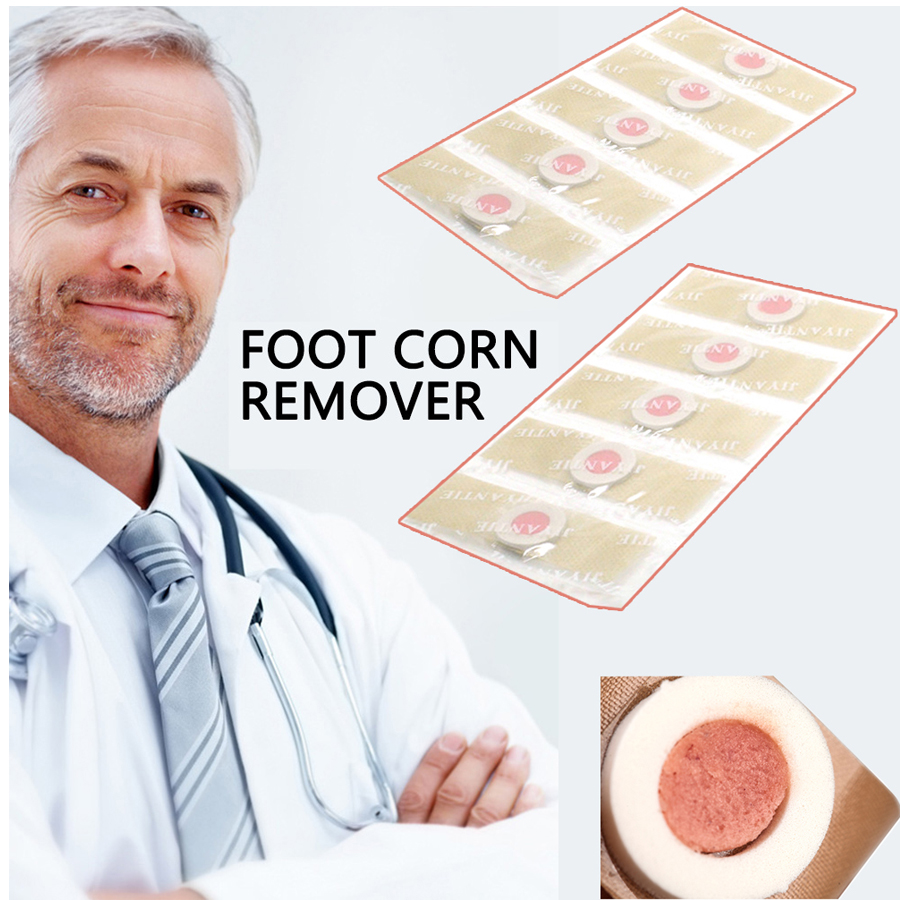 36pcs Foot Corn Remover Plaster Detox Foot Pad Patches Medical Patch Relieving Blisters&Corn Friction Pain Foot Care Tools D0976 kongdy brand 10 bags 20 pieces adhesive sheet bamboo vinegar foot patch removing toxins foot plaster foot cleansing pads