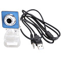 High Definition USB 2.0 360 Degree Rotation Web Camera Webcam with Mic for Laptop and Desktop
