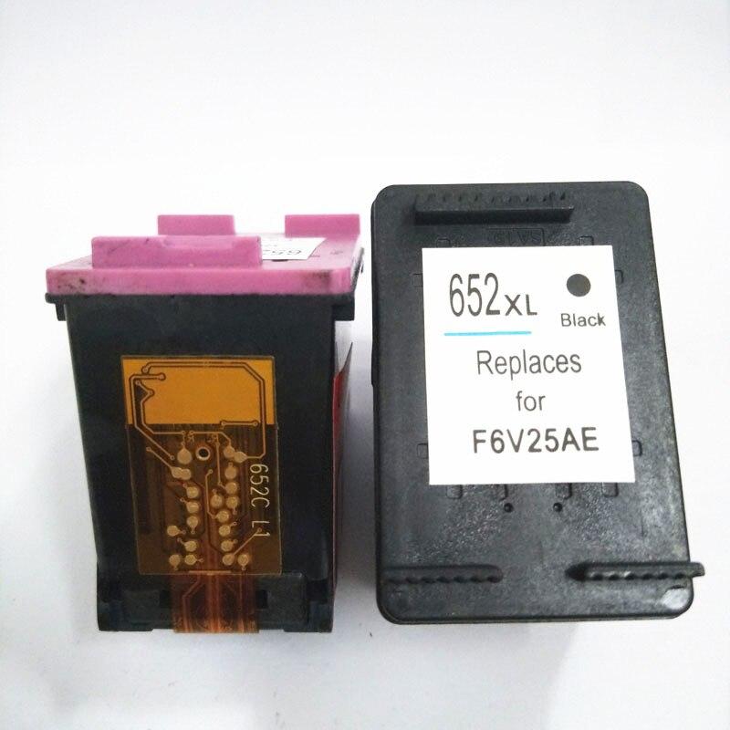 vilaxh 652 HP 652XL 652 xl Deskjet üstünlüyü üçün uyğun siyah - Ofis elektronikası - Fotoqrafiya 3