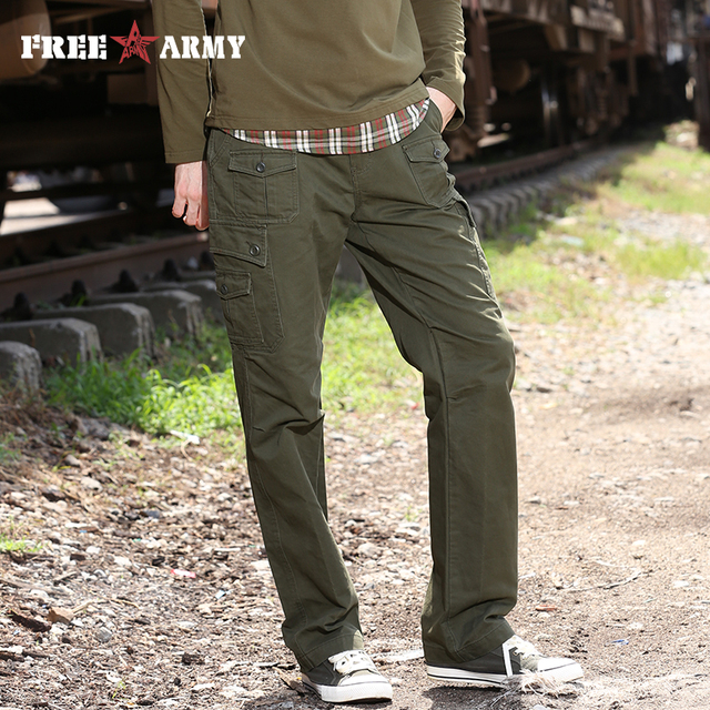 Winter Patterned Pants Tactical Army Military Cargo Pants Men's Enchanting Patterned Pants Mens
