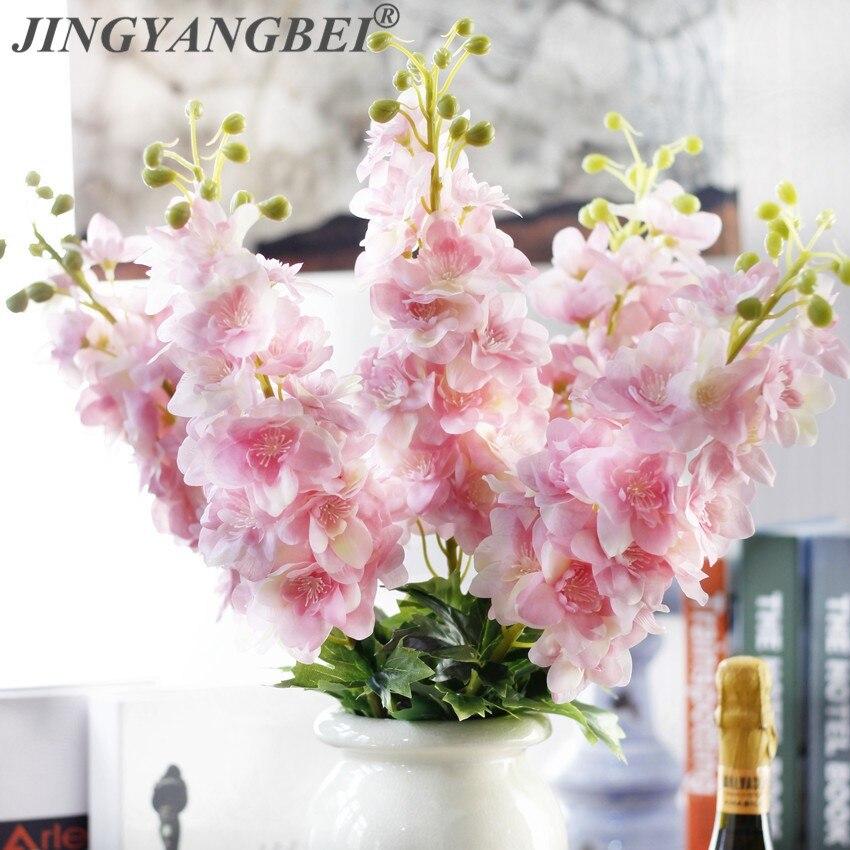80 см латекс Delphinium Hyacinth Искусственные цветы Континентальный PU цветы свадьба имитация цветов для дома украшения|Искусственные и сухие цветы|   | АлиЭкспресс