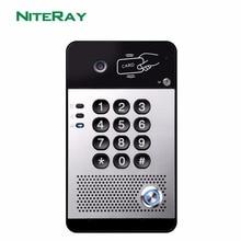 SIP Video Door Phone Video Intercom System Compatible With Asterisk/Alcatel/Avaya/Cisco PBX