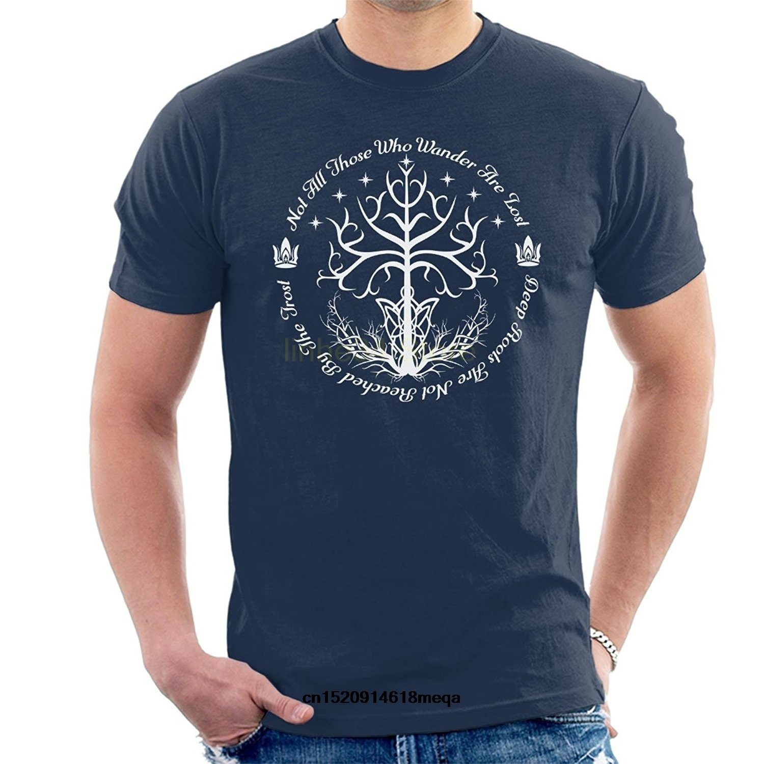 Lord of The Rings Rohan Banner Adult Regular Fit T-Shirt