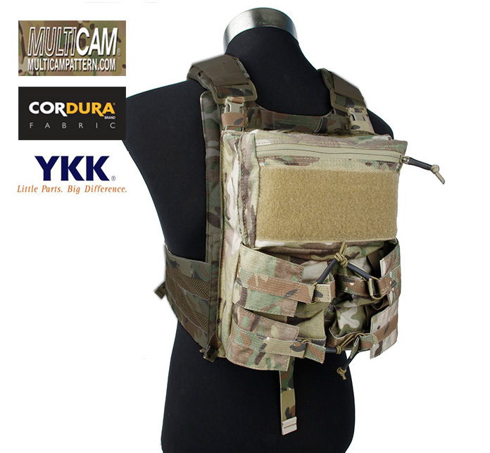Assault Back Panel Pouch For 4020 Plate Carrier Multicam Military Tactical Pack+Free shipping(XTC050955)Assault Back Panel Pouch For 4020 Plate Carrier Multicam Military Tactical Pack+Free shipping(XTC050955)