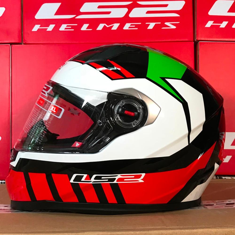 LS2 Helme FF358 Capacetes de Motociclista Motorrad Helm Full Face Motorrad Männer Racing Casque Moto Casco Neue Ankunft