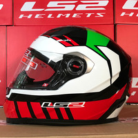 LS2 Helmets FF358 Capacetes de Motociclista Motorcycle Helmet Full Face Motorbike Men Racing Casque Moto Casco New Arrival