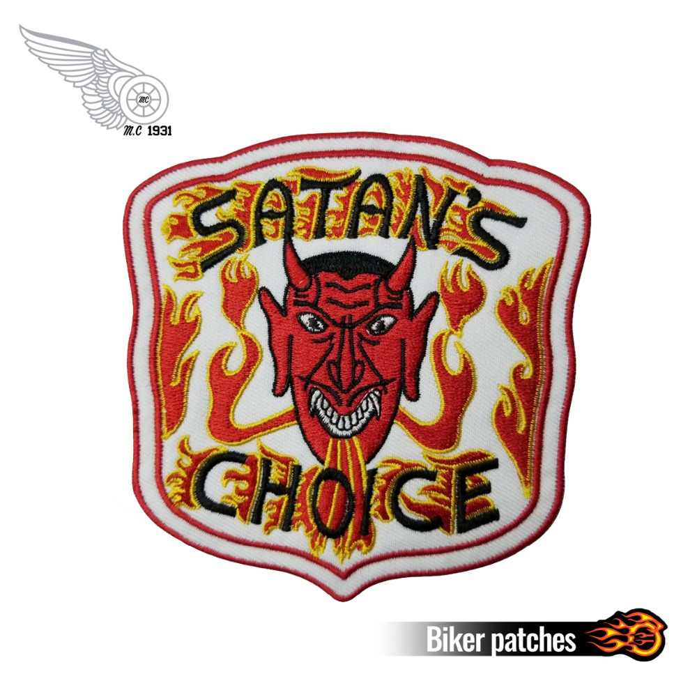 Boozefighters EST  1946 Patch MC Nova Patch Embroidery Iron on White