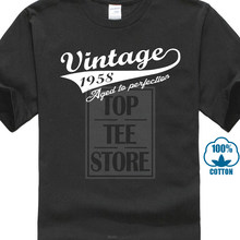 Vintage Year 1958 Mens Funny 60Th Birthday T Shirt 60 Old Gift Present Top