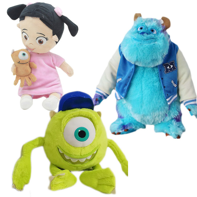 Monsters University Mike Sulley Boo Little Girl Plush Toys Monsters