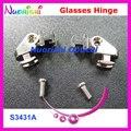 50 компл. или 100 шт. высокое качество очки для очков очки винты весной S3431A S3433B бесплатная доставка