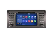 Free GIFTS  Android 5.1 1024*600 7 inch 1Din HD Touch Screen E39 Car DVD PLAYER Radio DVD WIFI QUAD Core For BWM M5 X5 E53