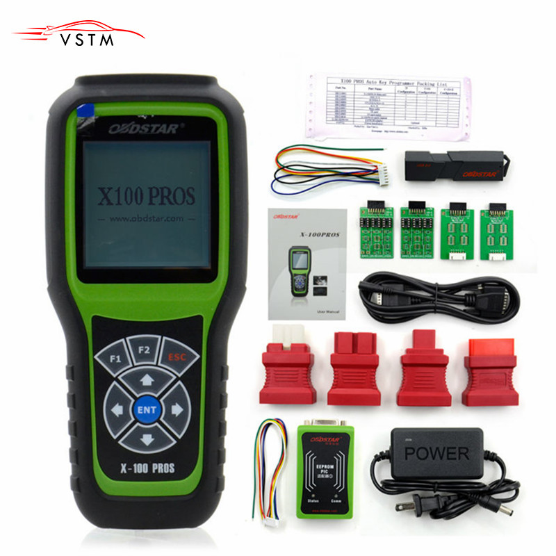 OBDSTAR X100 PROS C+D+E model Key Programmer with EEprom Adapter+IMMOBILISER+Odometer Adjustment Replace X 100 Pro