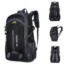 Sport Bag Outdoor Backpack Men Women Travel BackpackLarge Capacity 40L Nylon Waterproof Hiking  Mountaineering Camping Bagpacks feel pioneer 40l waterproof nylon women