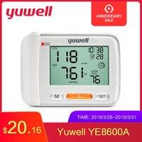 Yuwell 8600A Wrist Blood Pressure Monitor Medical Health Equipment LCD Digital Automatic Blood Pressure Measurement