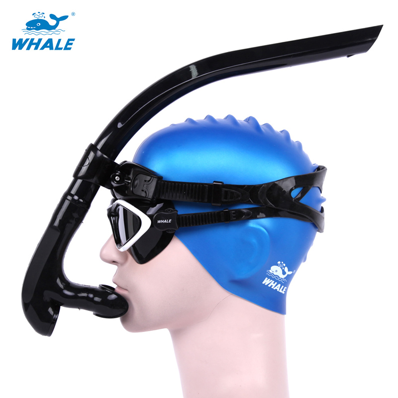 2019 Professional Comfort For Beginners Swimming Diving Breathing Tube Snorkeling Dry Silicone Snorkel Sea Pool Diving Accessory image