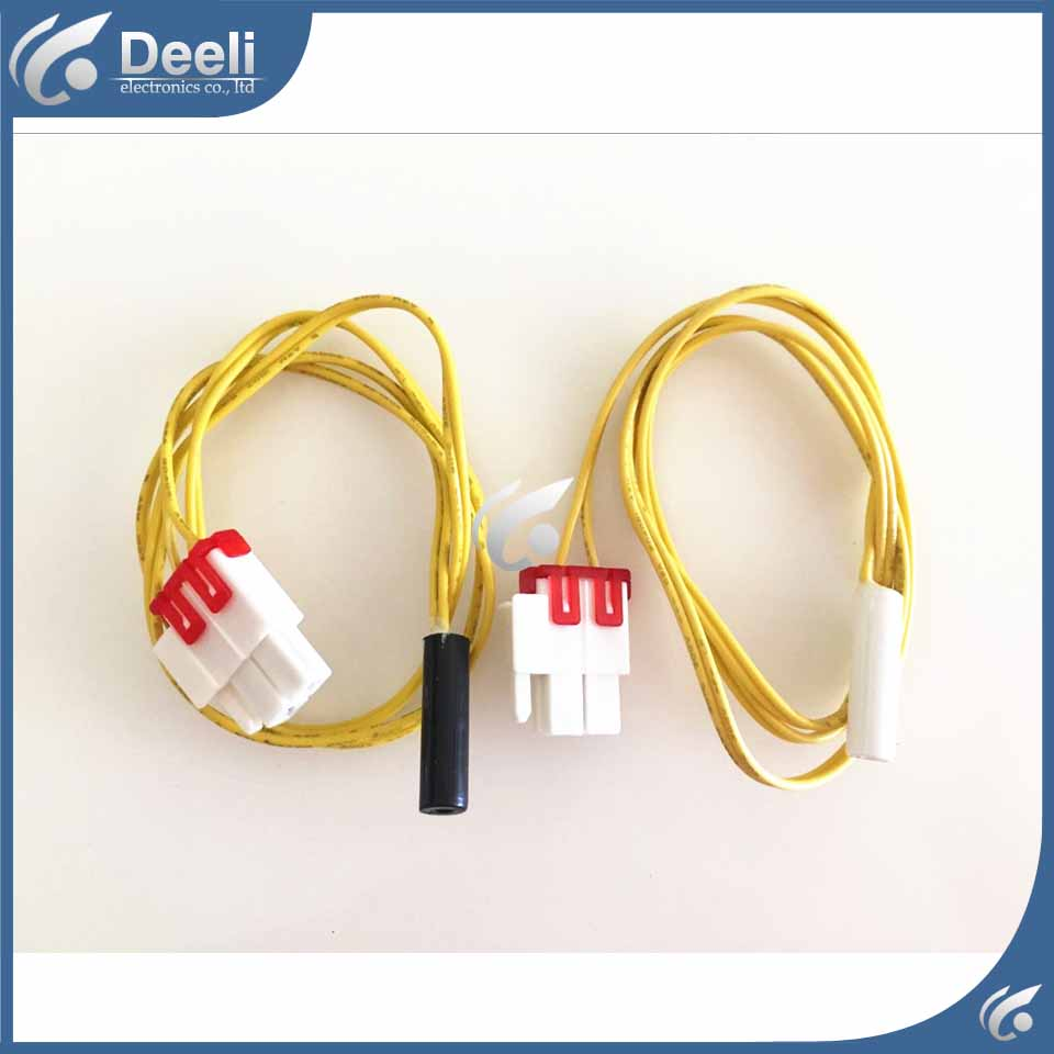 2pcs/lot for Samsung double door refrigerator defrosting temperature sensor 5K defrosting insurance 71CM 2pcs lot for samsung double door refrigerator defrosting temperature sensor 5k defrosting insurance