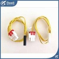 2pcs Lot For Samsung Double Door Refrigerator Defrosting Temperature Sensor 5K Defrosting Insurance 71CM