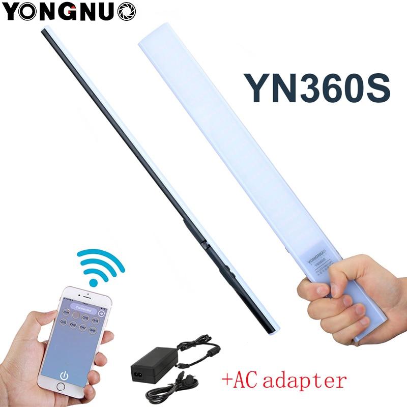 YONGNUO YN360S 3200K 5500K 5500K Handheld Ice Stick LED Video Light Phone App Control Lamp For