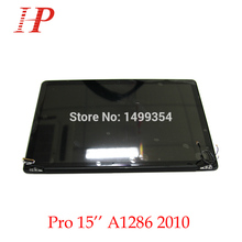 "New Glossy 2010 Year A1286 LCD Screen Assembly For Apple Macbook Pro 15"" A1286 LCD LED Screen Assembly MC371 372 373"