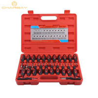 23 Pcs Car Electrical Terminal Wiring Crimp Connector Pin Remover Tool Set Release Tools with Box
