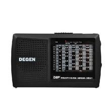 Originele Degen De321 Fm Stereo Digitale Radio Mw Sw Radio Dsp Wereldontvanger Hoge Kwaliteit Draagbare Radio Fm Beste prijs