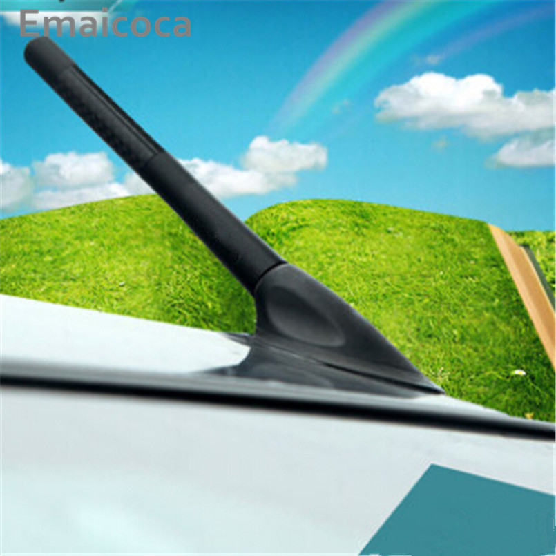 Emaicoca Car FM Radio Aerial Antenna Modify case For Volkswagen vw Golf GTI R20 R36 Jetta Tiguan POLO Passat CC EOS Scirocco