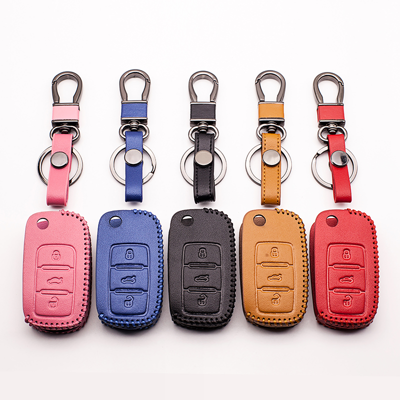 Car key cover Skin case set Fit for Volkswagen VW polo b5 b6 golf 4 5 6 jetta mk6 tiguan Beyond that Beetle car key cover shell