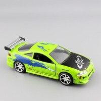 1 32 Scale Small Jada Brian S Mitsubishi Eclipse 1995 FAST FURIOUS Metal Die Casting Model
