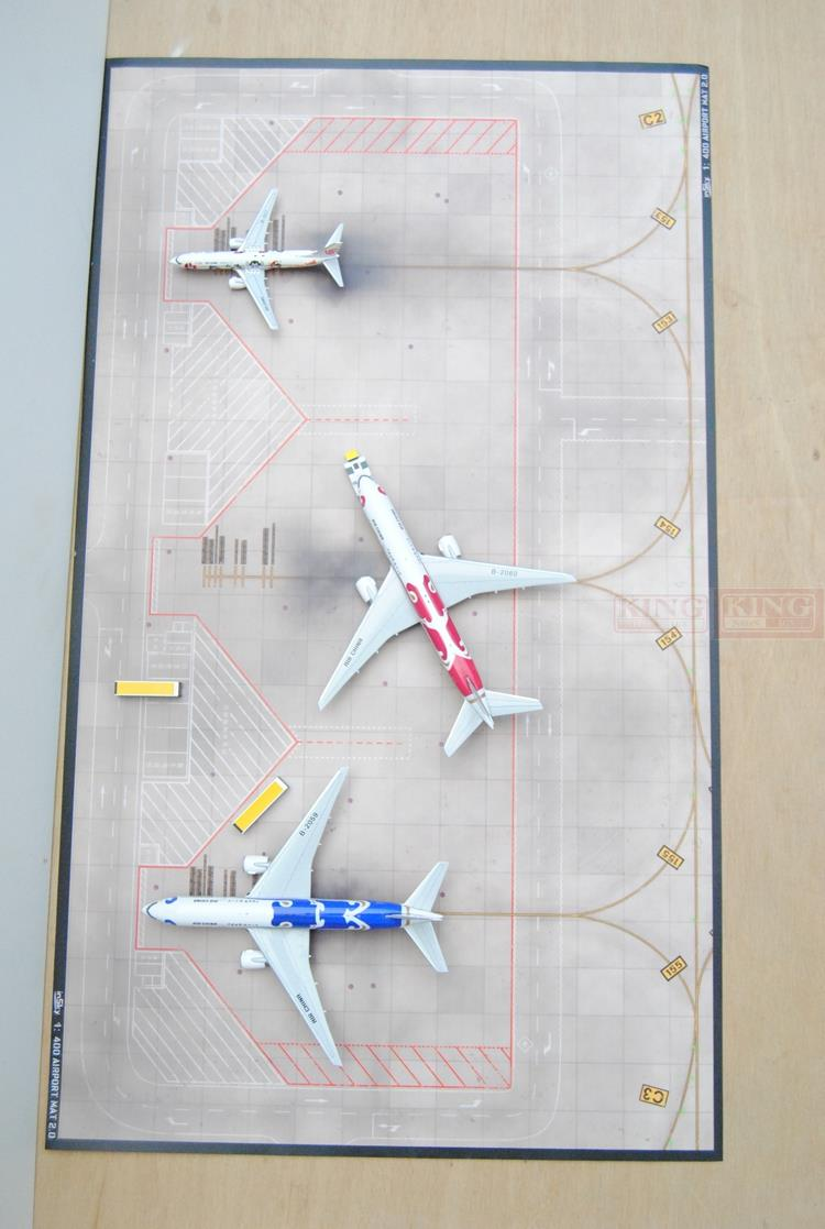 ФОТО InSky: 3 seat old apron seckill / not old 54cm*30cm 1:400 commercial jetliners plane model hobby