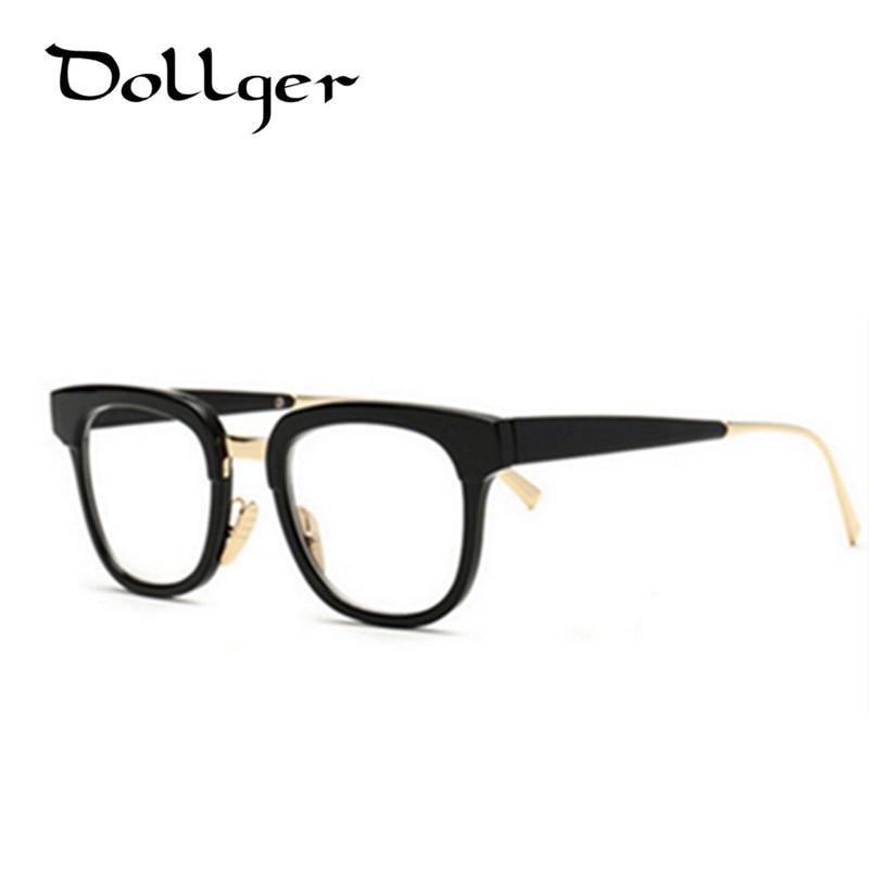 classic glasses frame men metal round eyeglasses women oculos de grau femininos can customize the myopic lens s1004