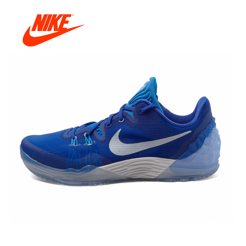 цена Original NIKE Kobe ZOOM Men Breathable Basketball Shoes Official Sneakers Sneakers breathable shoes outdoor anti-slip