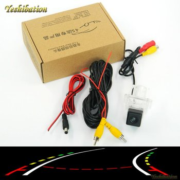 Yeshibation Intelligent Dynamic Trajectory Tracks Reverse Backup Rear View Camera For Mercedes Benz CL Class MB W216 / CLS W218