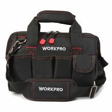 WORKPRO 12 дюймов сумка для инструментов 600D полиэстер электрик сумка на плечо Наборы инструментов сумка