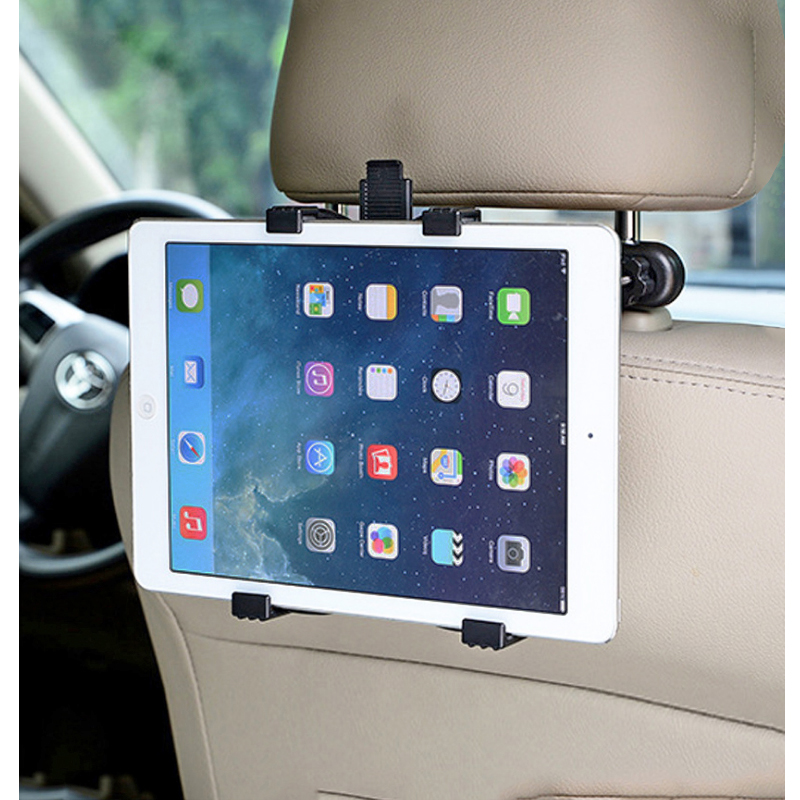 Adjustable Car Mount Tablet Holder Universal Tablet Stand for iPad 7-11 inch Tablet PC for Headrest Grip Rear Seat HH01