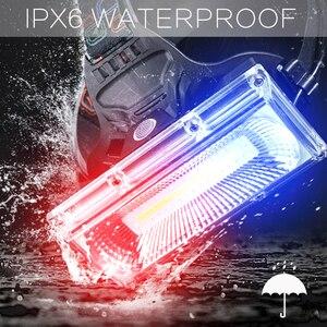 Image 4 - סופר מואר COB LED פנס תיקון אור ראש מנורת USB נטענת עמיד למים פנס 18650 סוללה דיג תאורה
