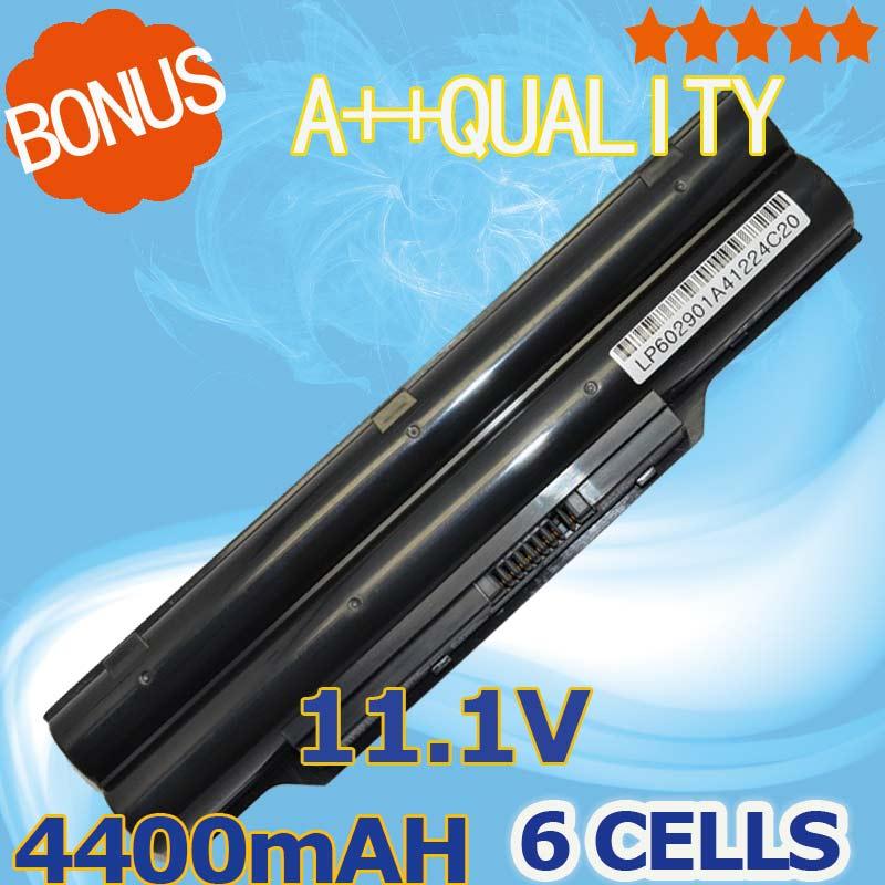 4400mAH font b laptop b font battery BP250 FPCBP250 FPCBP250AP For Fujitsu LifeBook A530 A531 AH530