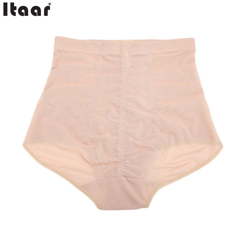 4 Size Ladies Underwear Abdomen Fitness Tummy Shaper Stretchy Women Underwear Abdomen Corset Sexy Women Panty Girdle
